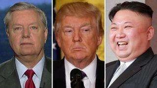 Graham: Trump won't allow North Korean 'nut job' threaten US