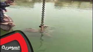 فيديو  العثور على مدفع عثماني في البصرة