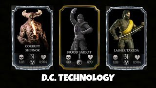 NEW CHARACTERS IN MKX MOBILE IN UPDATE 1.14 ?!