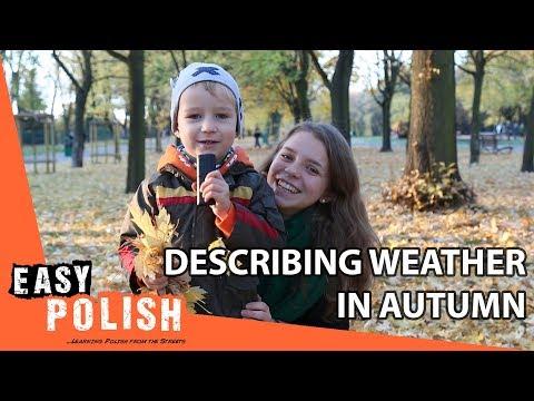 Tiếng Ba Lan bài 9: Hôm nay trời có nắng