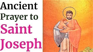 Prayer to St Joseph, patron of Family, Fathers, Workers, Unive…