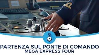 Ponte di comando - manovra partenza Mega Express Four