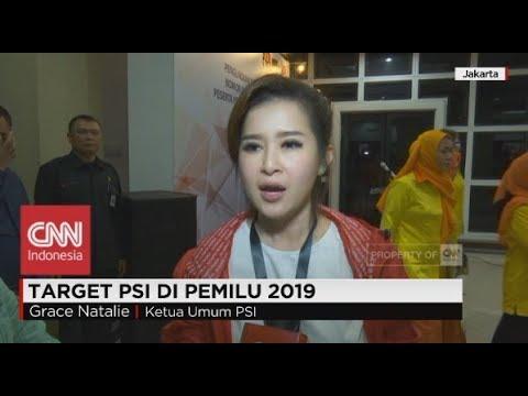 Target PSI di Pemilu 2019; Grace Natalie Ketua Umum PSI