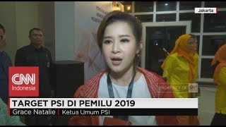 Download Video Target PSI di Pemilu 2019; Grace Natalie Ketua Umum PSI MP3 3GP MP4