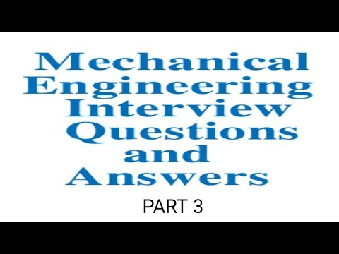 Mechanical engineering interview questions in Tamil (part 3)