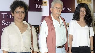 Dangal Actress Sanya Malhotra & Other Bollywood Celebs At The Sense Of An Ending's Special Screening