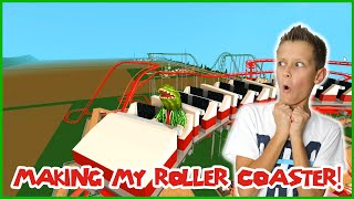 Making My Own Roller Coaster!