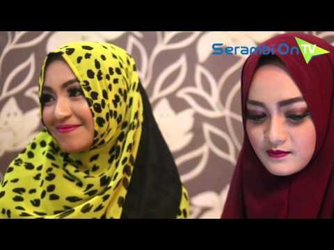 Serambi Techno : Dua Model Aceh ini Pakai Aplikasi Barcode