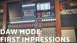 StudioLive DAW Mode - First Impressions