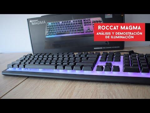 Roccat Magma. Análisis del teclado de #membrana con mejor iluminación   Gameit ES