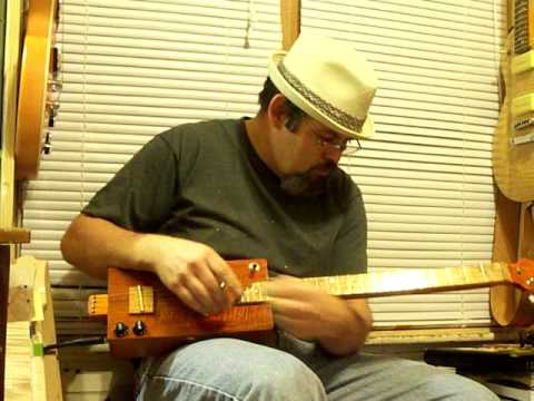 cigar box guitar build #454 by Back Porch Mojo
