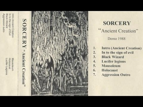 Sorcery (Sweden) - Ancient Creation (Full Demo) [1988]
