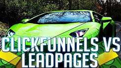 LeadPages | ClickFunnels vs LeadPages Review: The ULTIMATE Review (No Fluff)