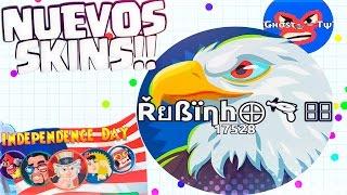 Video NUEVOS SKINS & Mi Primer LINESPLIT!! | 4 de JULIO | INDEPENDENCE DAY | Agar.io | Rubinho vlc download MP3, 3GP, MP4, WEBM, AVI, FLV September 2018