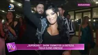 Teo Show (29.10.2018) - Elena Ionescu si-a botezat fiul! Petrecere de zile mari! EXCLUSIV ...