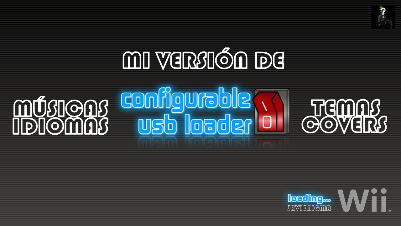 caratulas wii configurable usb loader