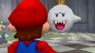 Super Mario 64 DS - 100% Walkthrough Part 6 - Big Boo's Haunt (Unlocking Luigi)