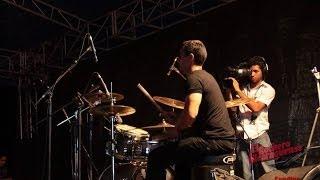 somarriba tocando bateria festival sandino 2014