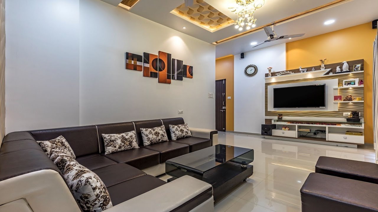 2 Bhk Flat Interior Design In Pune Cost Effective Design Solution Ravet Kams Designer Zone Youtube