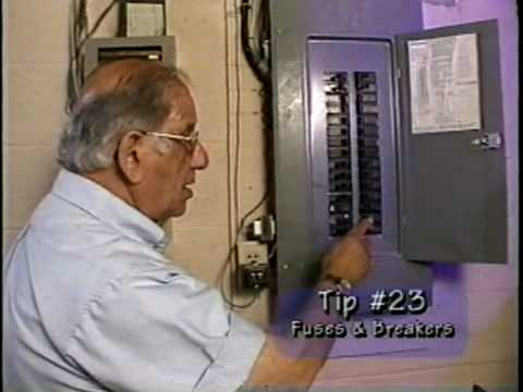 hqdefault how to replace fuses and reset breakers youtube house fuse box at bayanpartner.co