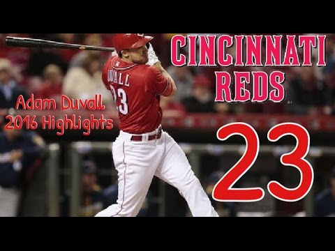 Adam Duvall | 2016 Reds Highlights HD