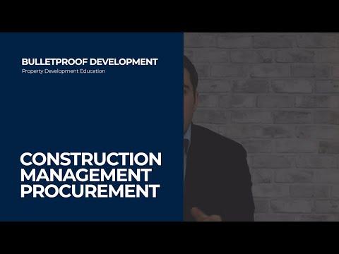Construction Management Procurement