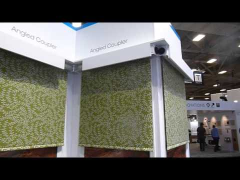 CEDIA 2015: Crestron's angled coupler for motorized shades