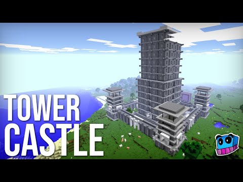 Instant Tower Castle Generator in one command! | Minecraft 1.11