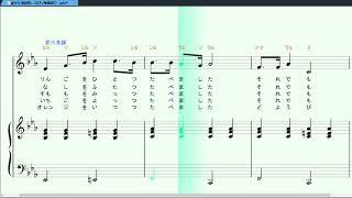 スコアメーカーZERO体験版(楽譜作成ソフト)自動演奏.
