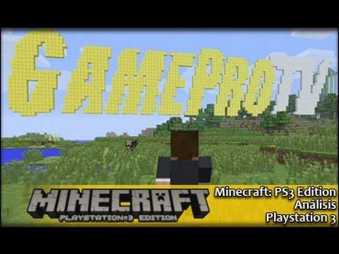 Minecraft Ps3 (español) | Análisis GameProTV