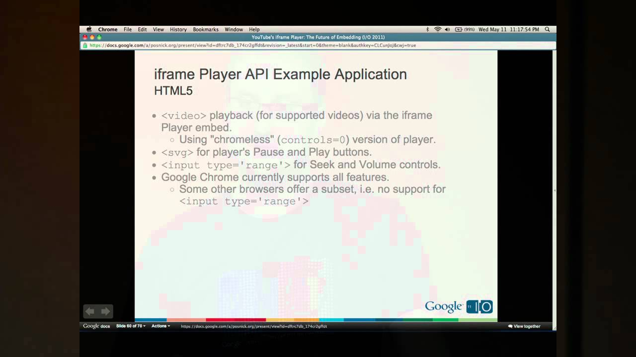 YouTube Player API Reference for iframe Embeds | YouTube IFrame