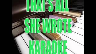 ALL SHE WROTE - EMINEM - KARAOKE