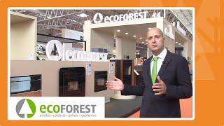 Ecoforest en Expobiomasa 2019: máxima eficiencia en estufas, calderas de pellet y bombas de calor