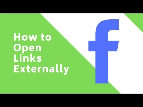 How to Open Links Externally in Facebook