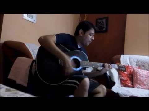 AYE MERE HUMSAFAR | GUITAR CHORDS/ COVER| ALL IS WELL - YouTube
