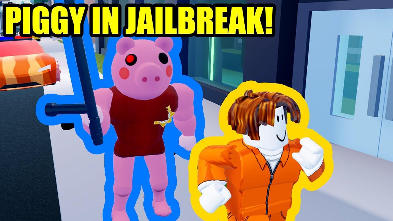 PIGGY PLAYS JAILBREAK! | Roblox Piggy X Jailbreak ...