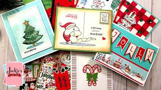 10 Cards 1 Kit | Simon Says Stamp December Card Kit (2018) | Holiday Cheer
