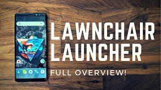 Lawnchair Launcher Full Overview! Better than Nova?