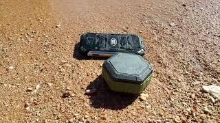 краш тест Land Rover v19 Недорогой,Водонепроницаемый защищённый смартфон настоящая Submarine XP8800