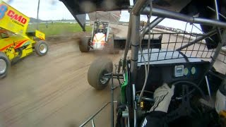 Chris Donnelly In-Car | SCoNE at Devil's Bowl Speedway 11-1-2014