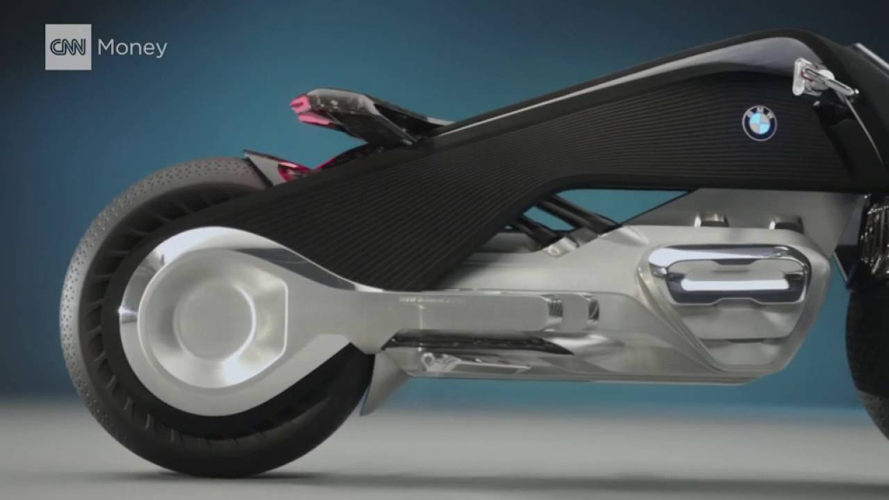 bmw's self balancing motorcycle of tomorrow - youtube