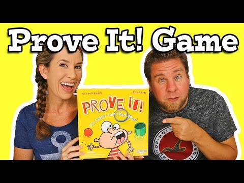 Prove It Game By PlayMonster