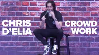 Chris D'Elia Crowd-work #2 (Irvine, CA)