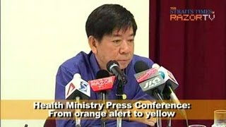 MOH Press Conference: Orange alert again if cases spread here?  (Pt 8)