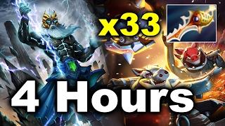 4 Hours 11 Minutes LONG! Game x33 Rapiers - 7.00 Dota 2