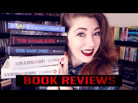 BOOK REVIEWS // THE GOLDEN COMPASS, THIS SAVAGE SONG, SHADES OF MAGIC