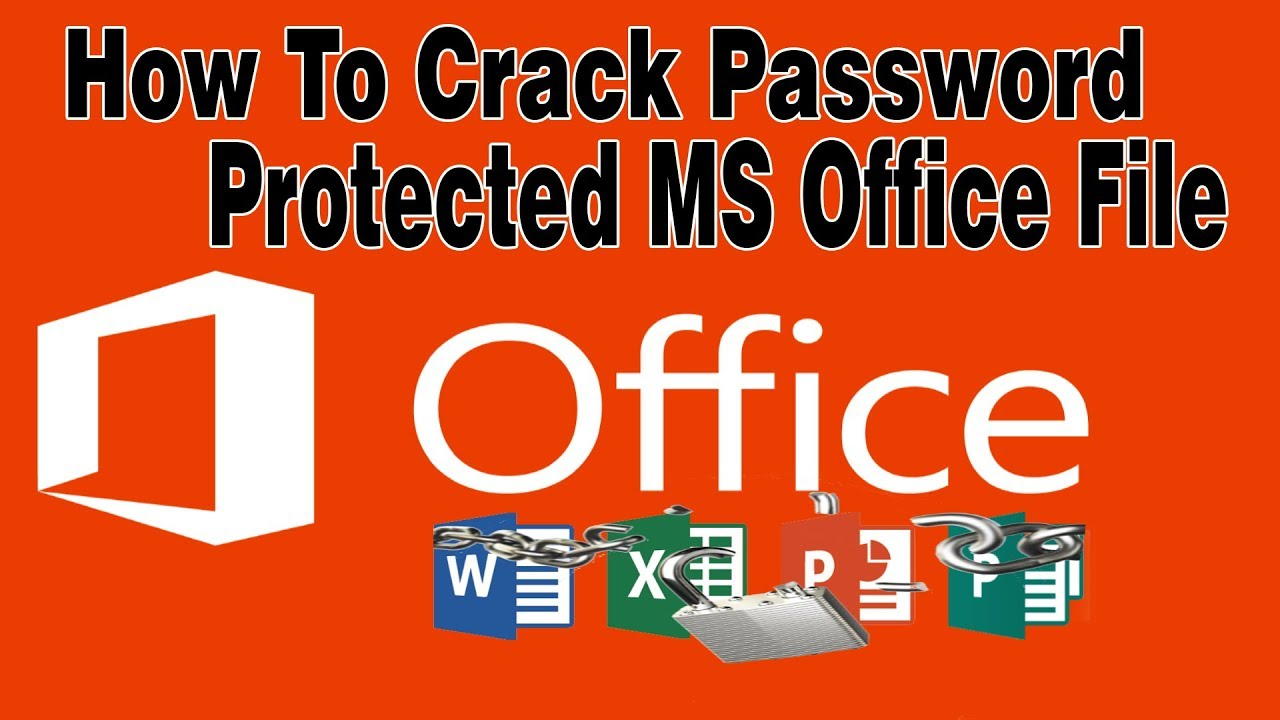 How To Crack MS Office File Opening Password ? | Crack Word, Excel, PowerPoint Password | White Hack