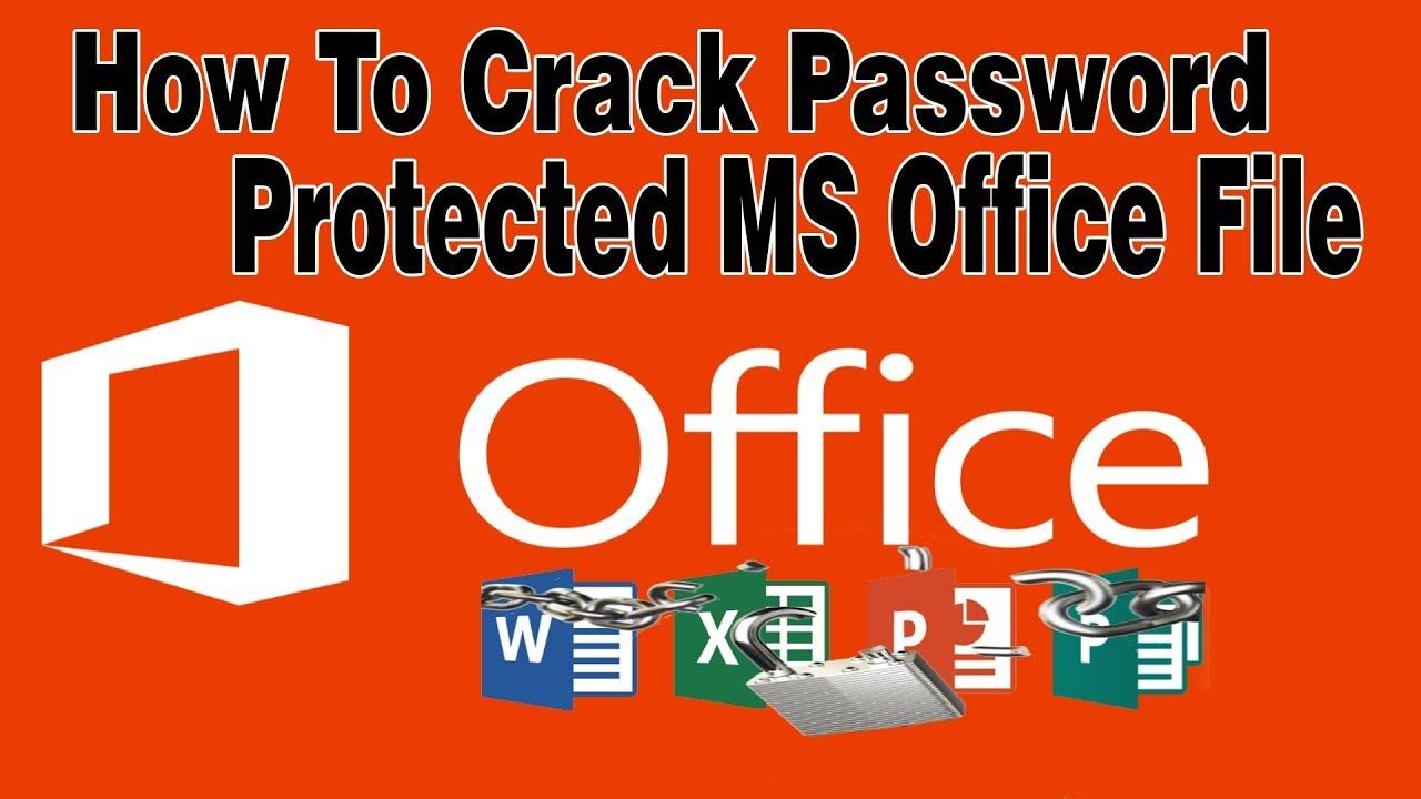 crack office document password