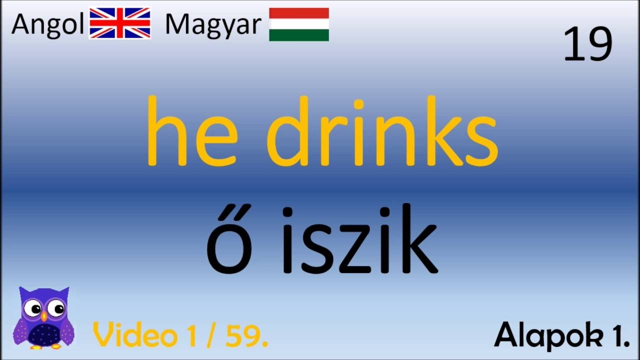 01 59 Alapok Magyar - Angol Szavak (English - Hungarian top words)  (duolingo szavak) d596c0f63c