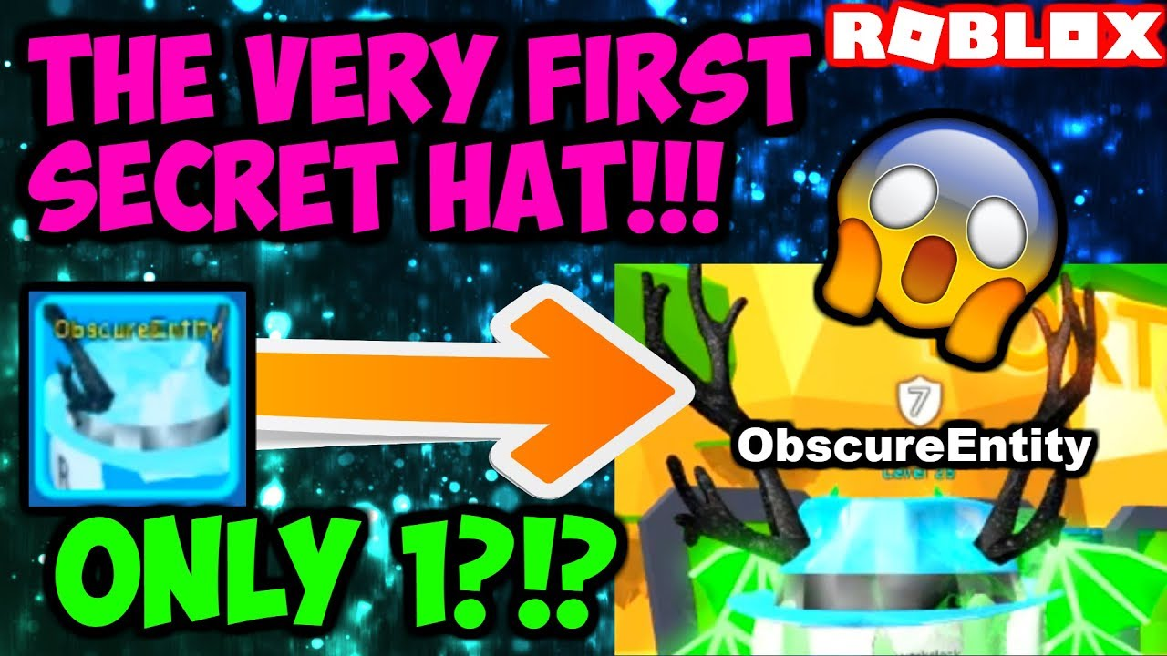 4 85 MB] THE FIRST EVER SECRET HAT OPENED!!! (Bubble Gum Simulator
